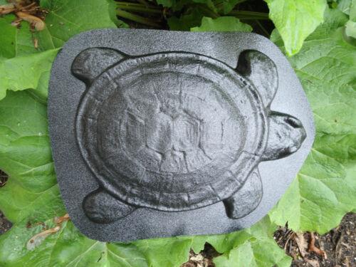 """Turtle plaque plastic mold concrete plaster mould  14/""""L x 10/"""" W x 1//2/"""" thick"""