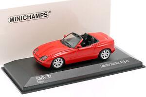 BMW-Z1-E30-Baujahr-1991-rot-1-43-Minichamps
