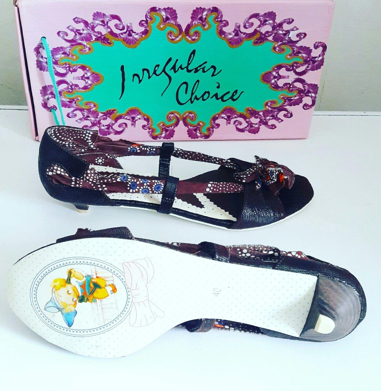 Irregular choice shoes size 6.5