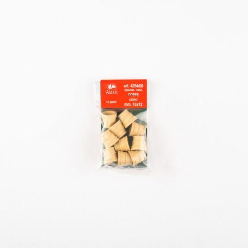 Amati AM4294 Coffe IN Holz 15 MM Modell 10 Stücke