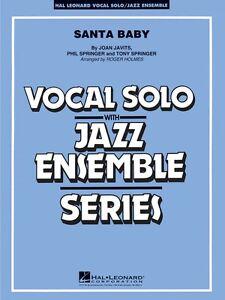 Adaptable Santa Baby Vocal Solo Jazz Ensemble Série 007500137 Neuf-afficher Le Titre D'origine