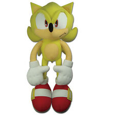 "New GE Animation (GE-52626) Sonic the Hedgehog 20"" Large Super Sonic Plush Toy"