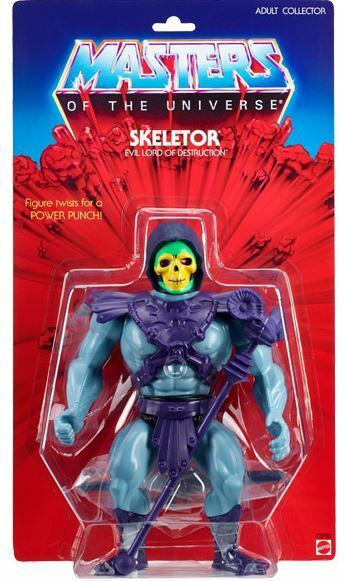 Auspacker   Gigante Skeletor 2014 Motu Classics Giants 12'' Vintage Styled