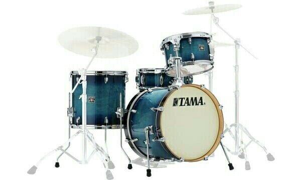 TAMA Superstar Maple Drumset CL48S-BAB Blau Lacquer Burst im Drumshop auf Lager