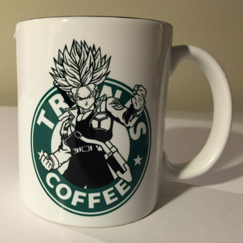 Future Trunks Starbucks Anime Manga Japanese Insipred Cartoon Mug