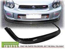 Fit For 2001-2002 Subaru WRX STI DP Style Carbon Fiber Front Bumper Lip CF