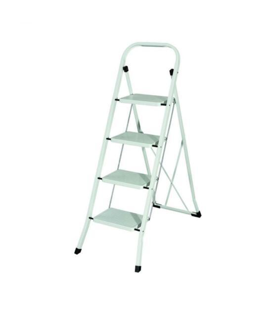 MAURER Escalerilla Acero 4 Peldaños Uso Doméstico