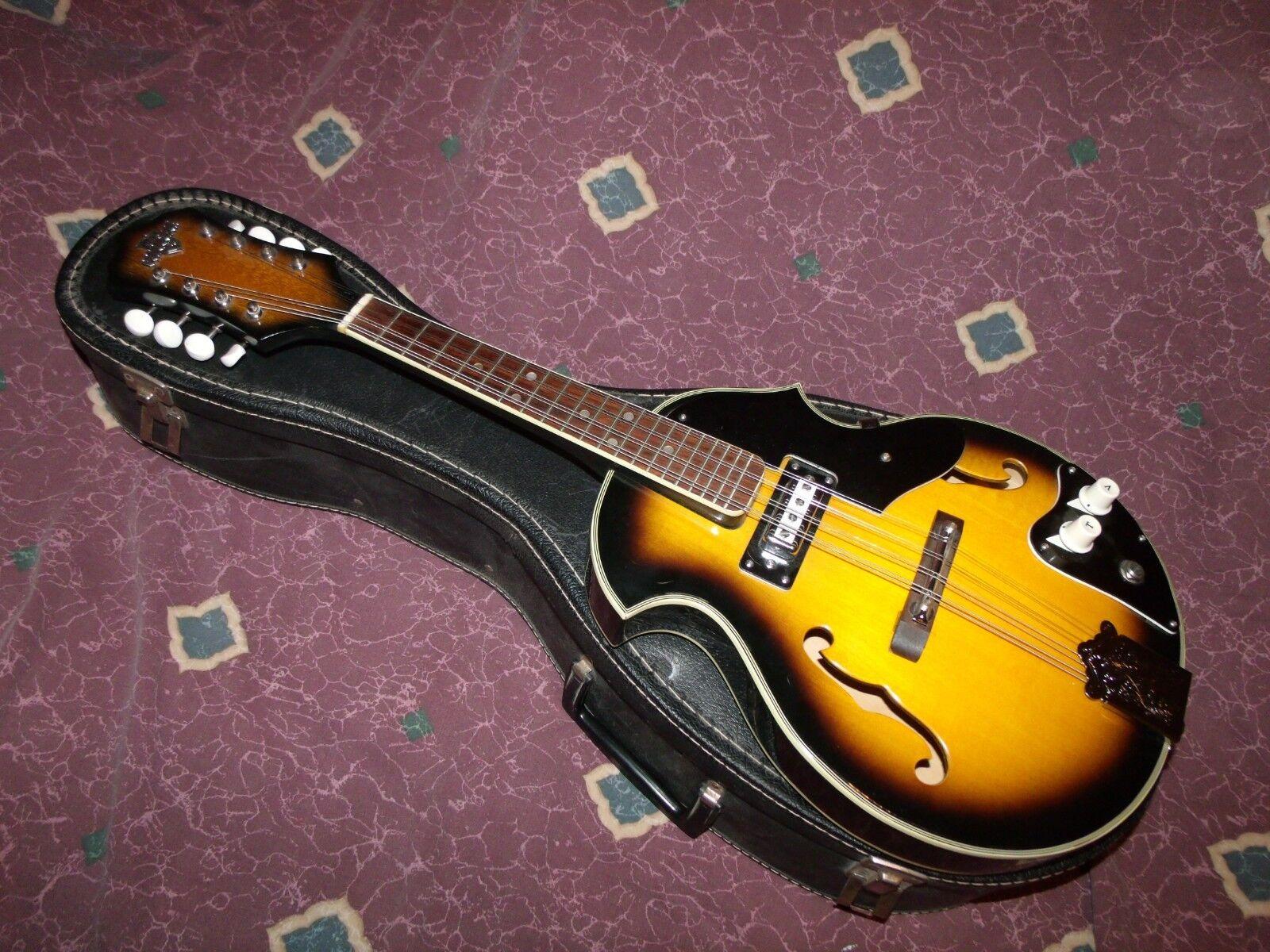 Vendimia temprana década de 1970 conquistador conquistador conquistador mandolina eléctrica de 2 puntos de Japón  Excelente  67ce97