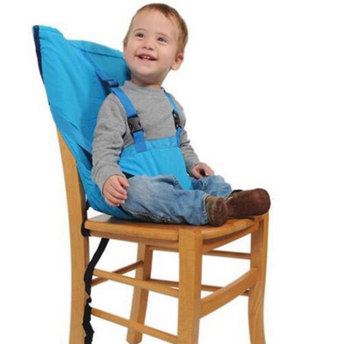 New Safe travel Portable Baby High Chair belt Seat Infant Sack Sacking Kids Seat