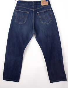 Levi's Strauss & Co Hommes 590 04 Jeans Jambe Droite Taille W36 L30 BDZ124