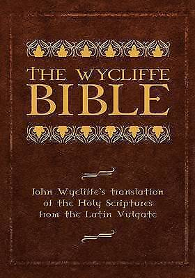 Wycliffe Bible, Brand New, Free P&P in the UK