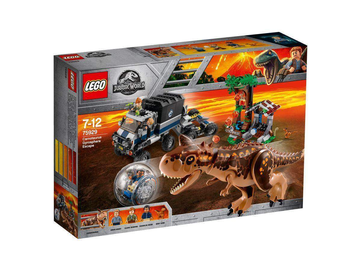 LEGO® Jurassic World™ 75929 - Carnotaurus Flucht in der Gyrosphere