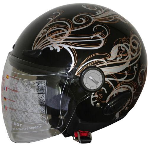 Motorcycle Open Face Helmet H18