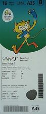 TICKET M 16.8.2016 Olympic Rio Basketball Women's USA - Japan # A35