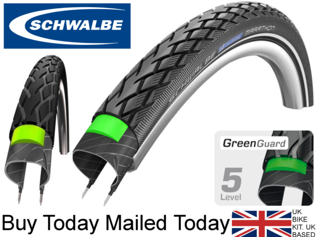 "eb1448f1e53 Schwalbe Rapid Rob Black MTB Tyre 28"" (28 X 1.35 700x35c 35-622) - 2 Tyres  for sale | eBay"