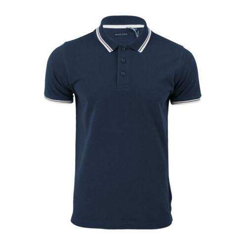 Mens Polo T Shirt Brave Soul Hero Pique Short Sleeve Tipped Collar Casual Top