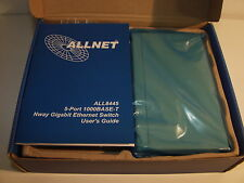 SWITCH  gigabit ALLNET ALL8445/E 5 PORTS 10/100/1000  NEUF NEW