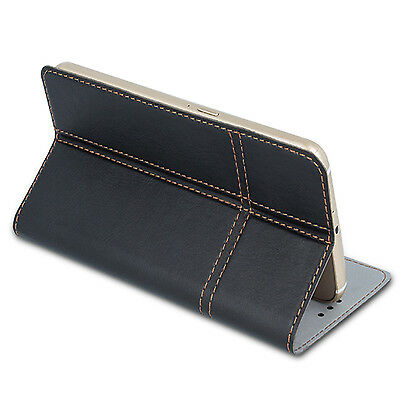 Handy Tasche für GIGASET Flip Book Case Cover Schutz Hülle Etui Wallet Flipcase