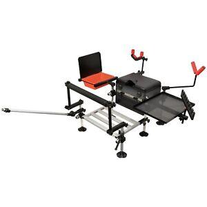 100% Vrai Carp Pro Nouveau Match Box Fishing Kit Grossiers Pole Fishing Seat Box Et Accessoires-afficher Le Titre D'origine Performance Fiable