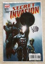 MARVEL COMICS SECRET INVASION #8 FINALE SIGNED BY ARTIST LEINIL FRANCIS YU