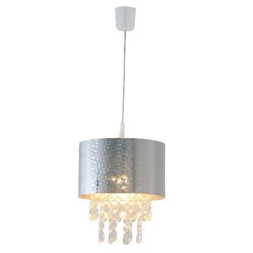 Luminaire suspendu cristal déco lampe acrylschirm pendeloques en Näve 6045742