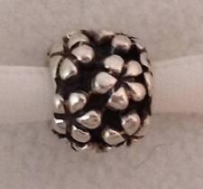 Genuine Pandora Sterling Silver Flower Power Hippy Charm 790292 925 ALE