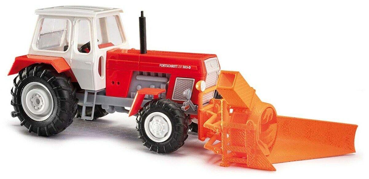 Busch 50417 Traktor Fortschritt ZT 323-A mit Spitzpflug H0