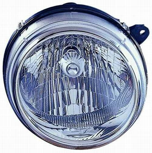 NEW LEFT SIDE HALOGEN HEAD LAMP ASSEMBLY FOR 2002-2003 JEEP LIBERTY CH2502136