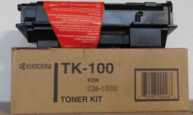 Kyocera TK-100 Toner black für KM-1500  370PU5KW   OVP B