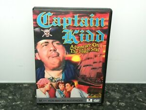 Captain-Kidd-Adventure-On-The-High-Seas-DVD-PAL-LIKE-NEW