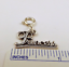 Sterling-Silver-034-Princess-034-Charm-on-Silver-Spring-Ring-For-Charm-Bracelets-0874 thumbnail 2