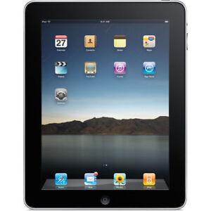Apple iPad 1st Gen Tablet 16GB + 3G, Wi-Fi, 9.7in - Black (MB293LL/A)
