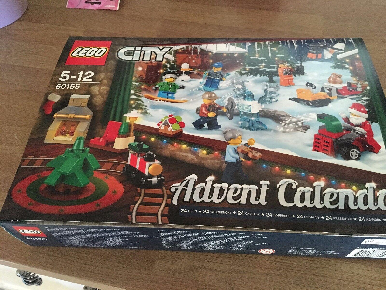 LEGO 60155 City Advent Calendar  new, sealed
