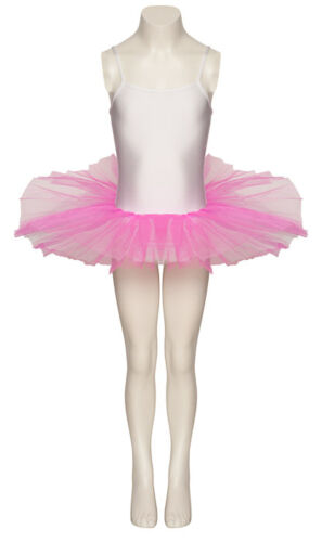 Ladies Girls Ballet Dance Two Tone Tutu Outfit Costume All Colours Sizes By Katz