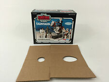 brand new star wars esb palitoy solid belly tauntaun box + inserts