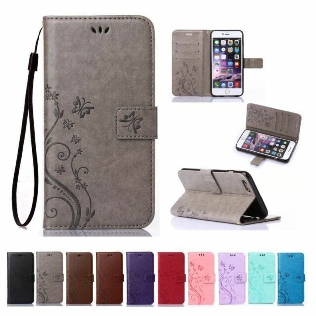 Magnetic Pattern Leather Wallet Flip Card Stand Case Cover For iPhone 7 7 Plus 6