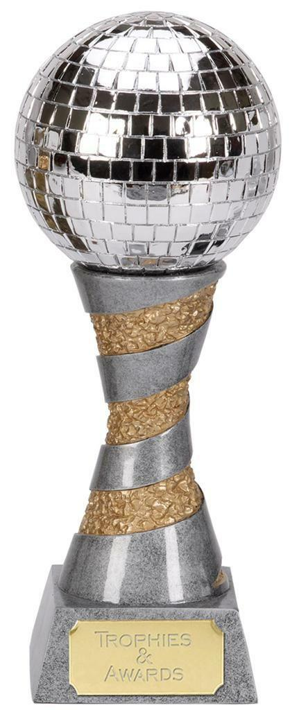 Zauberhaft-Disco Tanz Trophäe 15.2cm Or 22.9cm 30.5cm Gratis Gravur Auszeichnung