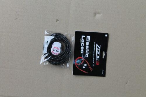 NEU! Race Zone 3 elastische Schnürsenkel, verschiedene Farben