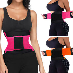 Waist-Trainer-Cincher-Trimmer-Sweat-Belt-Men-Women-Shapewears-Gym-Body-Shaper-AU