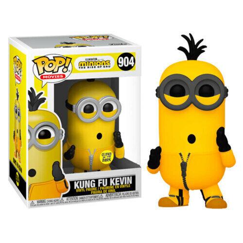 Les Minions 2 Rise De Gru Kevin Kung Fu Brillant US Ex Vinyle Pop