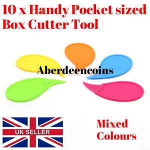 10-X-Cortador-de-Caja-de-envase-de-plastico-Abridor-de-carton-de-doble-bolsa-de-herramientas