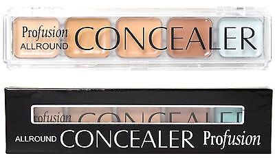 1 New 5 Color Professional Makeup Camouflage Concealer Palette SHIPS FROM USA