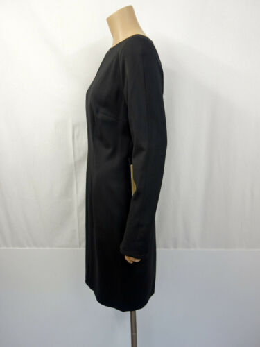 509 € nuevo Annette Görtz calla Stretch estuche Vestido gr. 38 dress manga larga negro