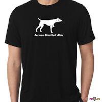 German Shorthaired Pointer Mom Tee Shirt Gsp Dk