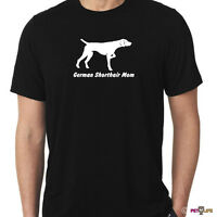 German Shorthaired Pointer Mom Tee Shirt Gsp Dk