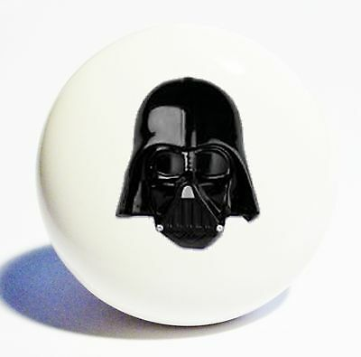STAR WARS DARTH VADER HOME DECOR CERAMIC KITCHEN  KNOB DRAWER CABINET PULL