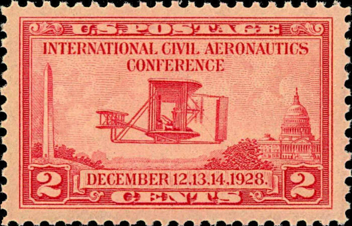 1928 2c Aeronautics Conference, Wright Airplane Scott 6