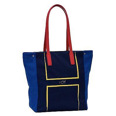 Borsa Ragazza Donna Shopper Hoy Blu A Mano O Spalla