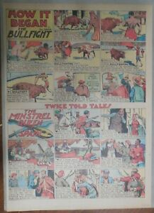 How-It-Began-The-Bullfight-and-Minstrel-Queen-of-Spain-by-Berdanier-from-1935