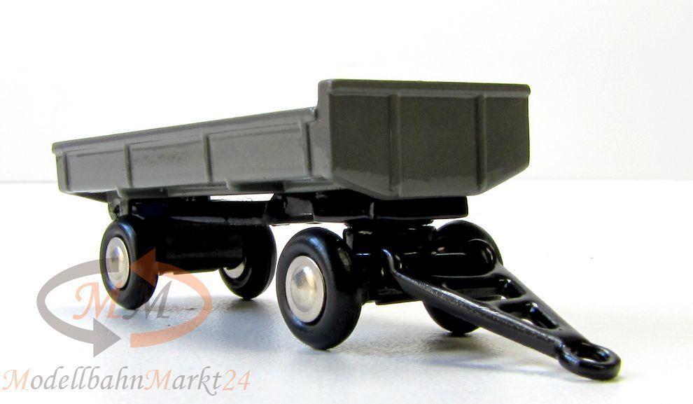 40% de descuento Schuco 757 Piccolo tráiler de almacenamiento almacenamiento almacenamiento con catre en gris escala 1 90  compras en linea